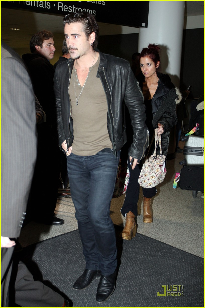 colin farrell arriving in los angeles 05