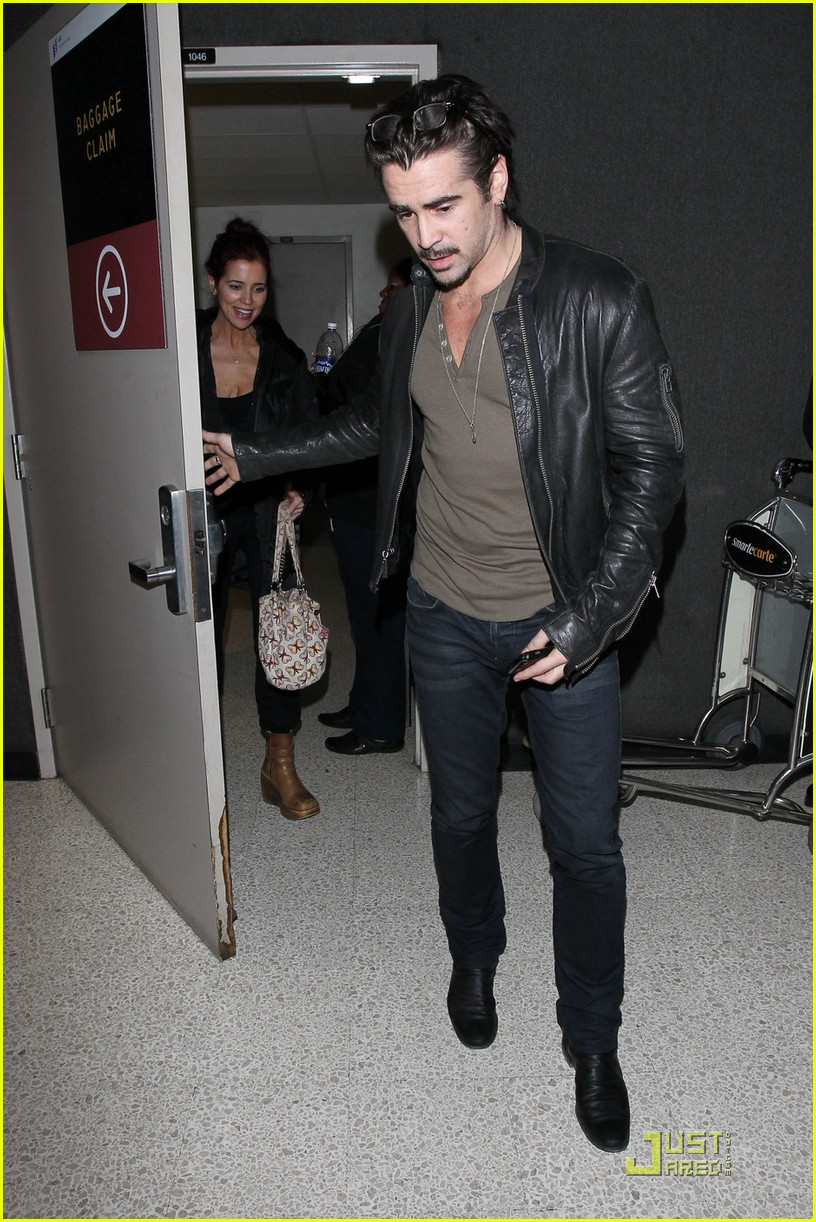 colin farrell arriving in los angeles 062509041
