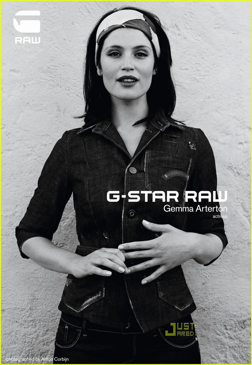 gemma arterton g star ad campaign 012510555