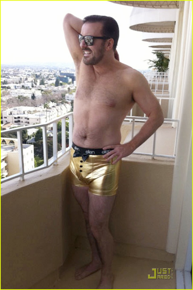 ricky gervais gold underwear 02
