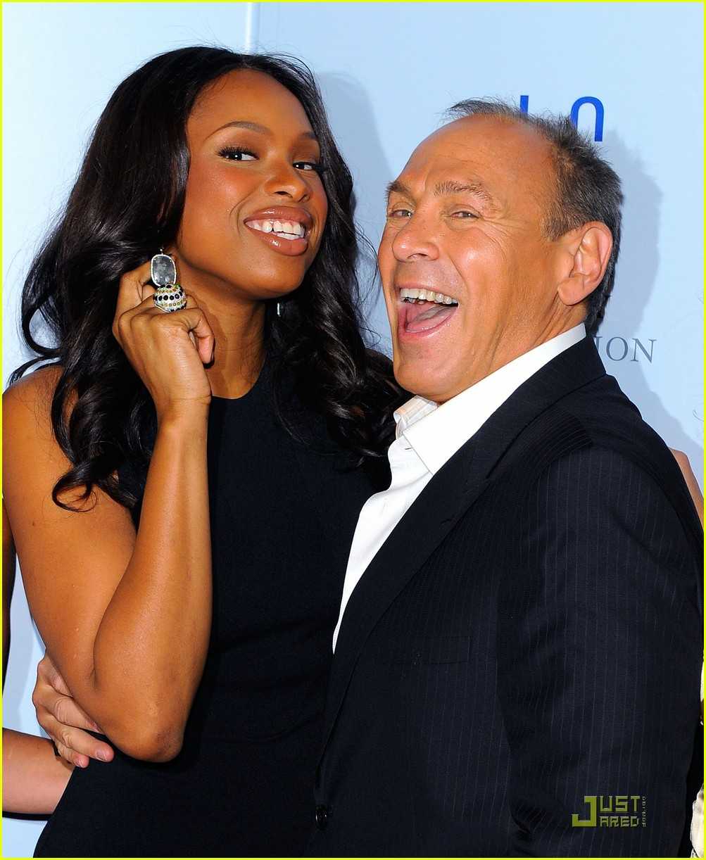 jennifer hudson gem awards with neil lane 052509199