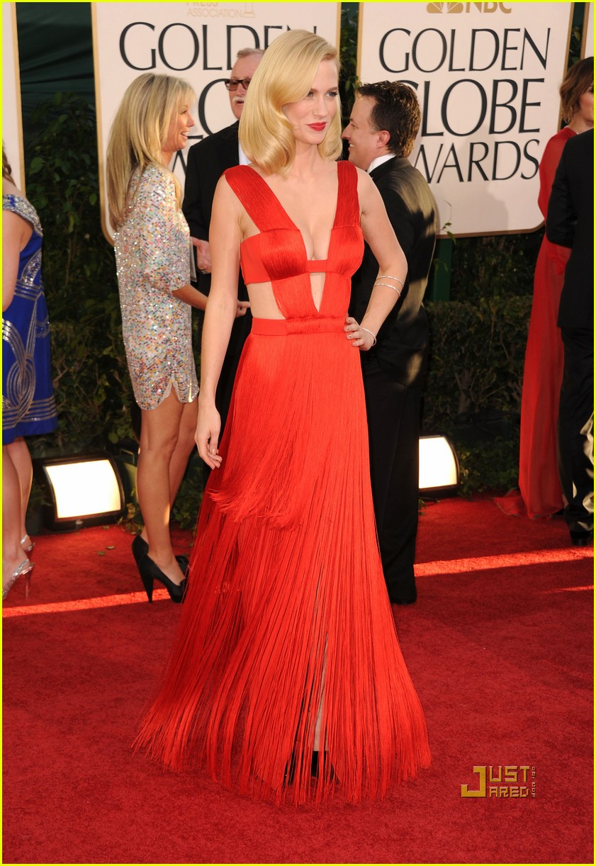 january jones 2011 golden globes 14