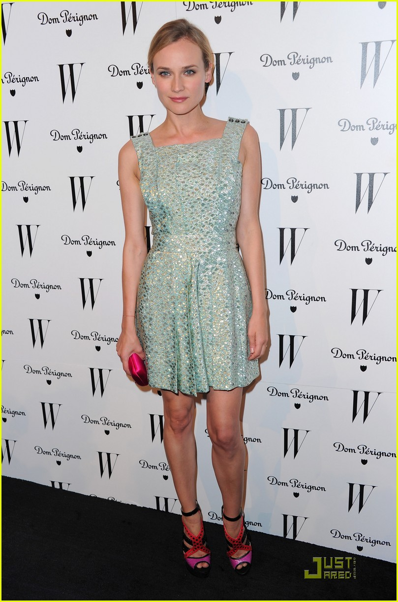 diane kruger w magazine golden globe party 10