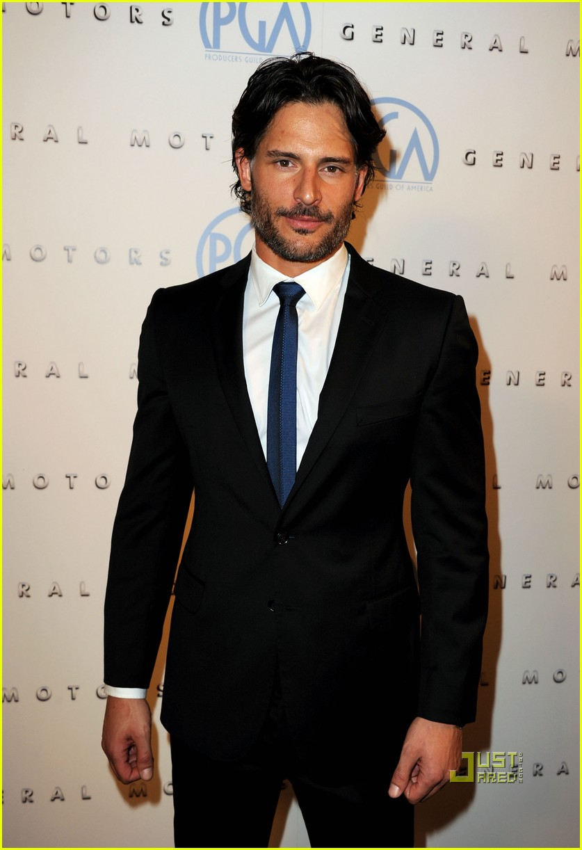 joe manganiello audra marie producers guild awards 07