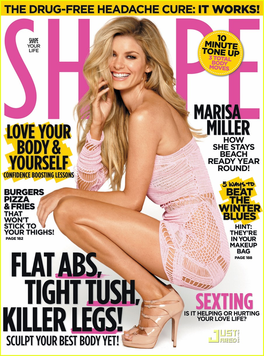 marissa miller shape magazine cover