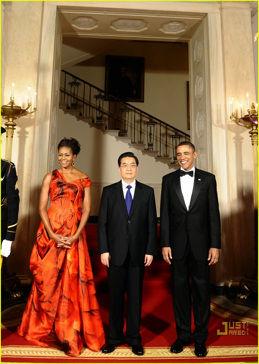 michelle obama china red 052513182
