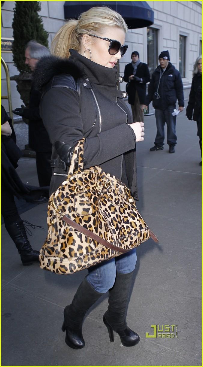 jessica simpson leopard print bag nyc 092508337