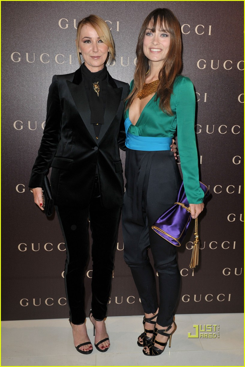 olivia wilde gucci dinner 04