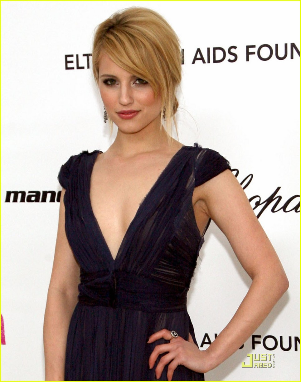 dianna agron oscars 2011 04