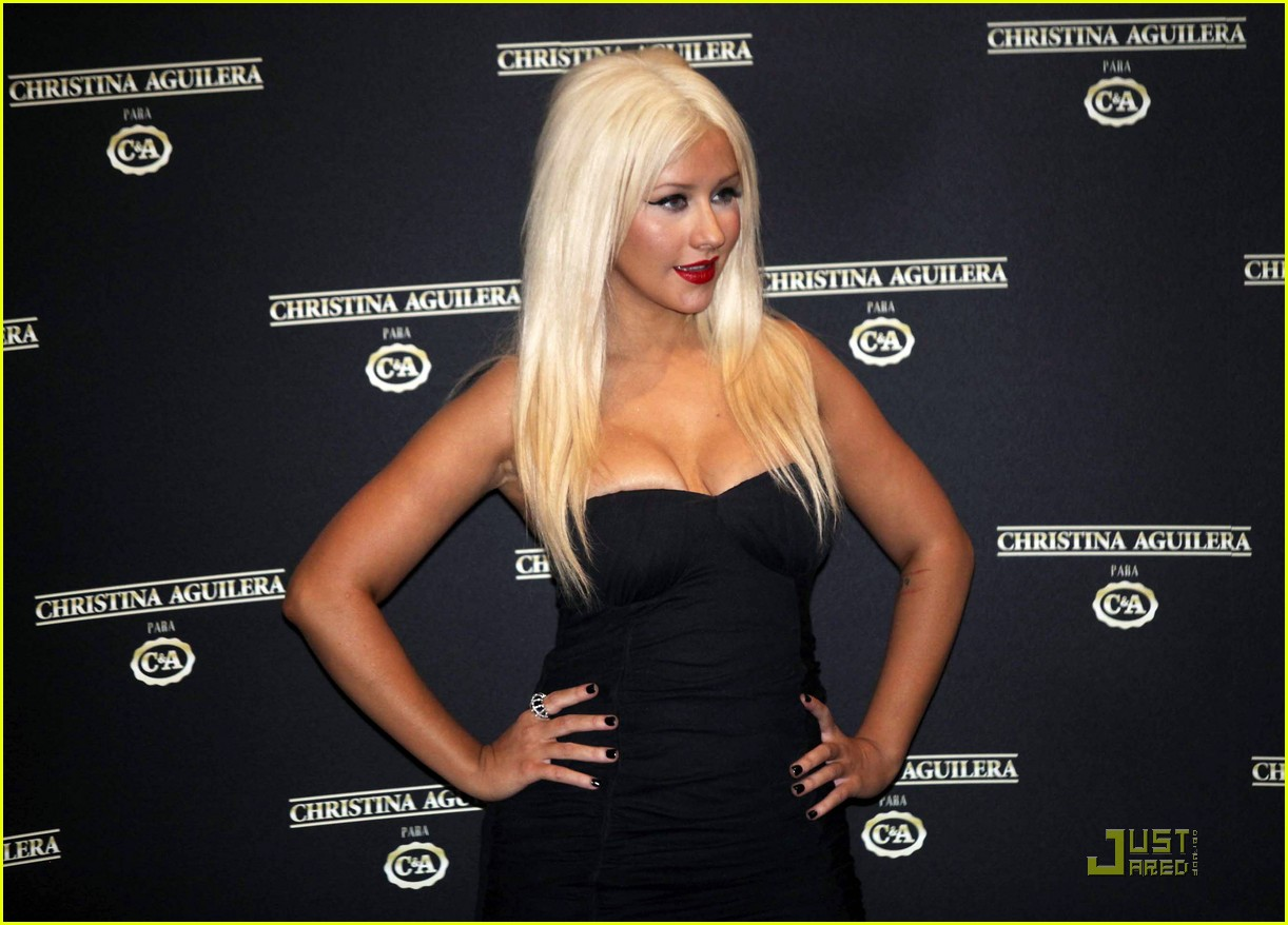 christina aguilera sao paulo fashion week 06