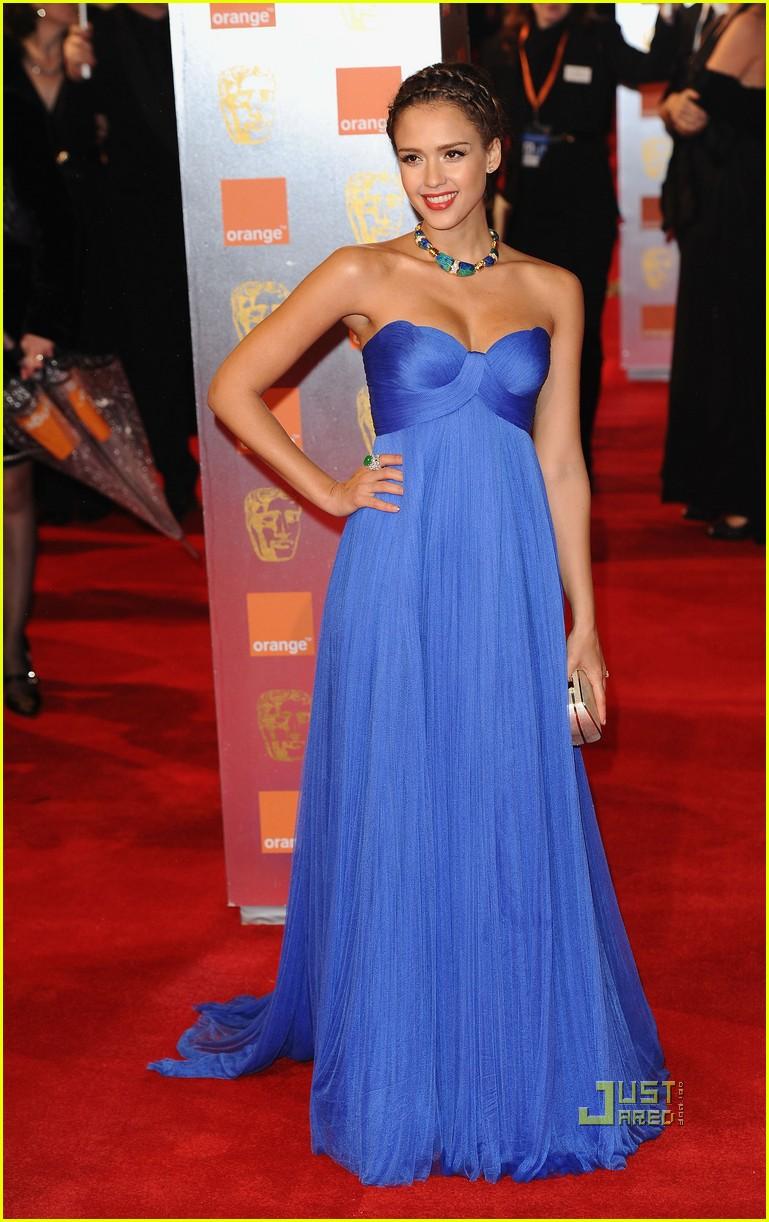 Jessica Alba Baftas 2011 Red Carpet Photo 2519088