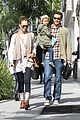 jessica alba cash warren breakfast 03