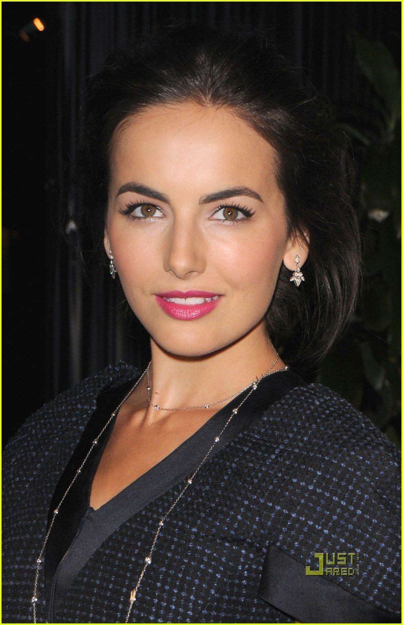 camilla belle chanel charles finch preoscar dinner 022523408