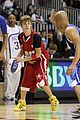 justin bieber nba all star game rihanna 08