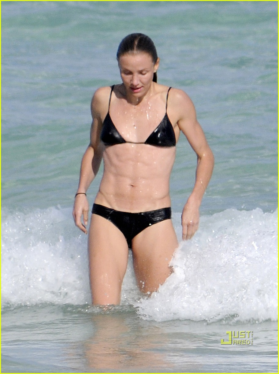 cameron diaz alex rodriguez bikini shirtless 01