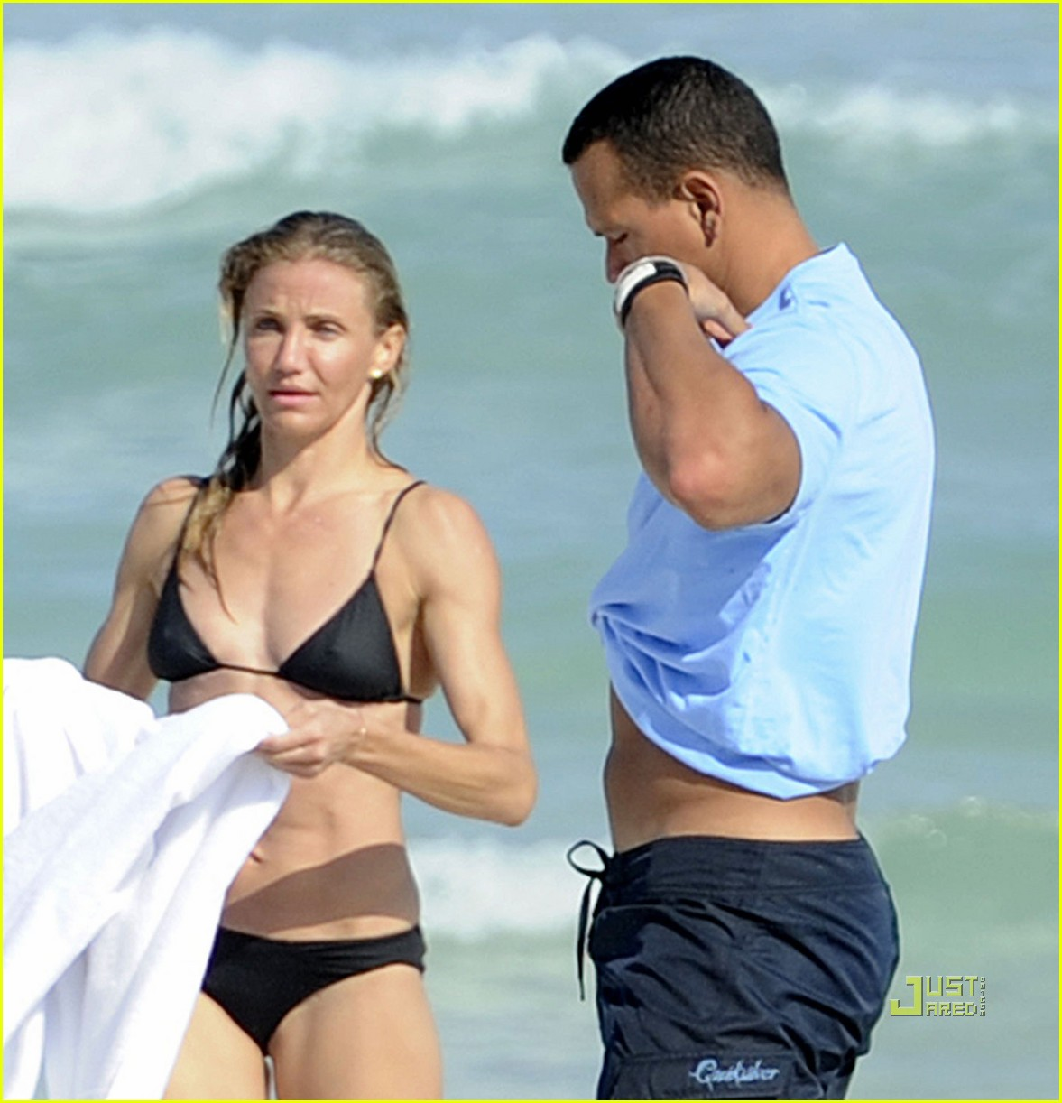 cameron diaz alex rodriguez bikini shirtless 08