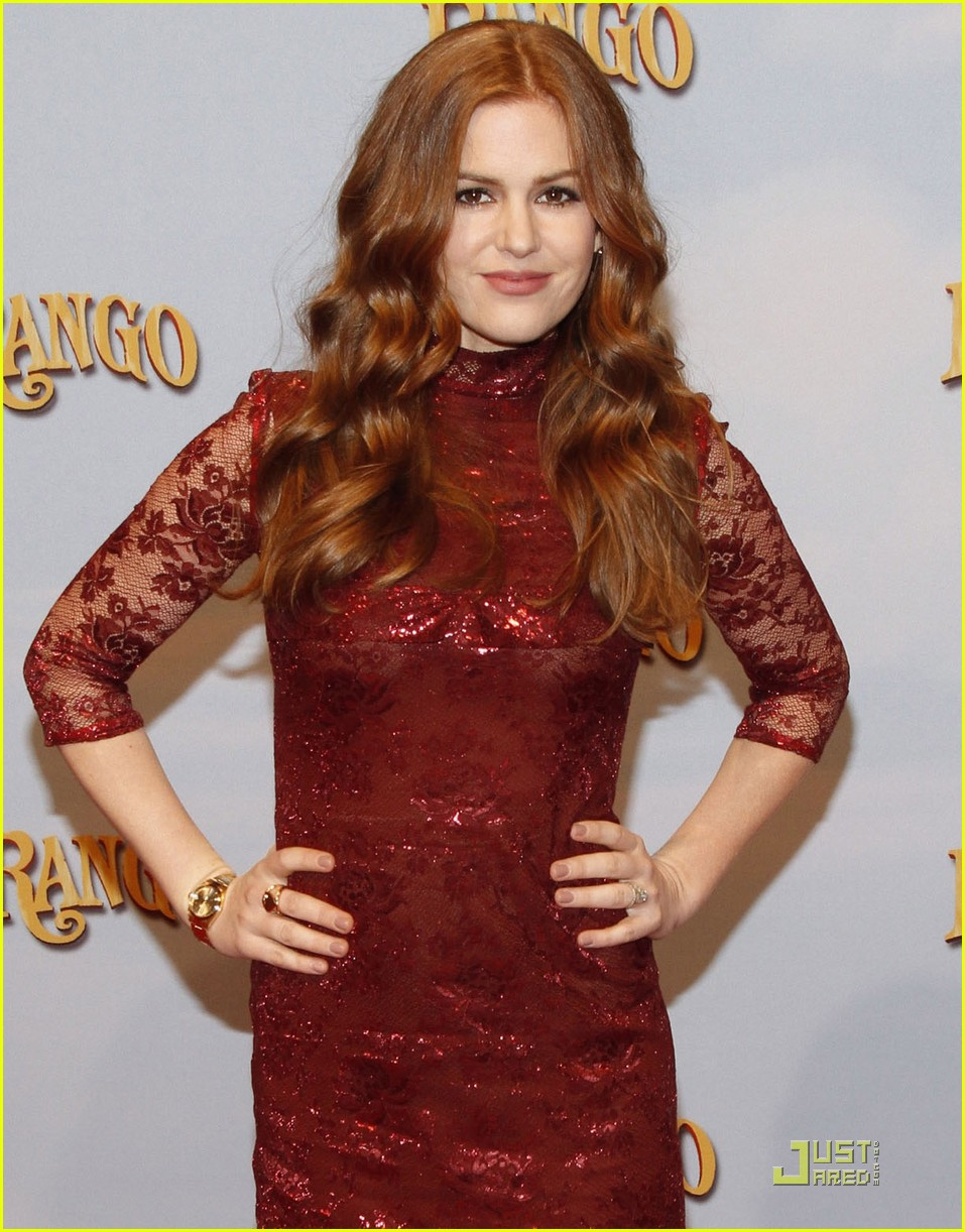isla fisher rango premiere germany 06