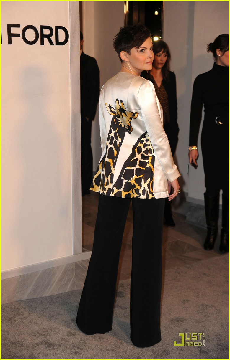 ginnifer goodwin tom ford flagship opening 04