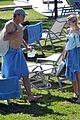 kelsey grammer miami poolside with kayte walsh 12