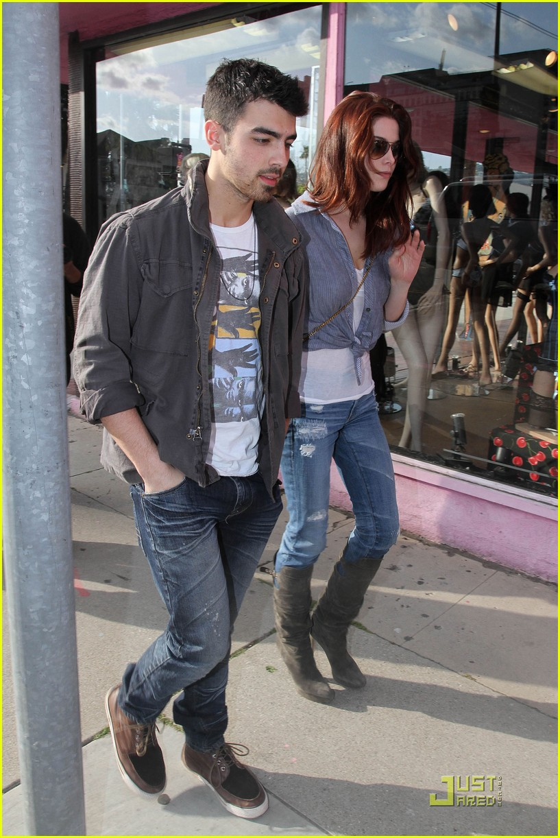 ashley greene joe jonas afternoon lovers 07