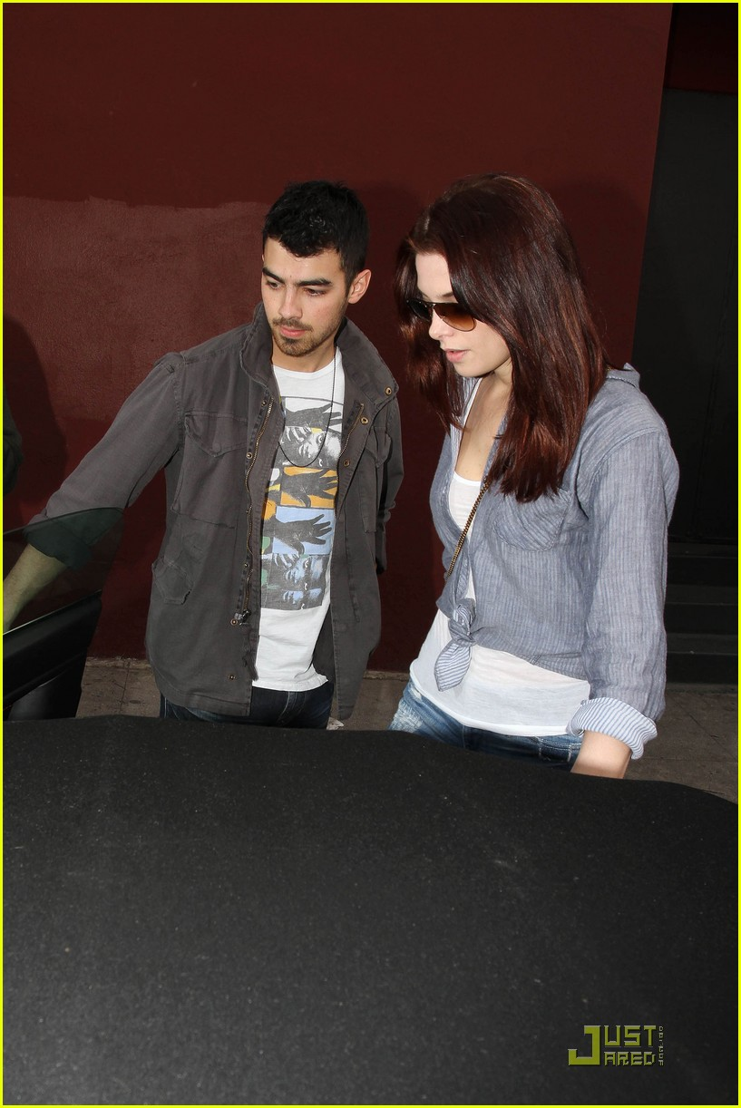 ashley greene joe jonas afternoon lovers 09