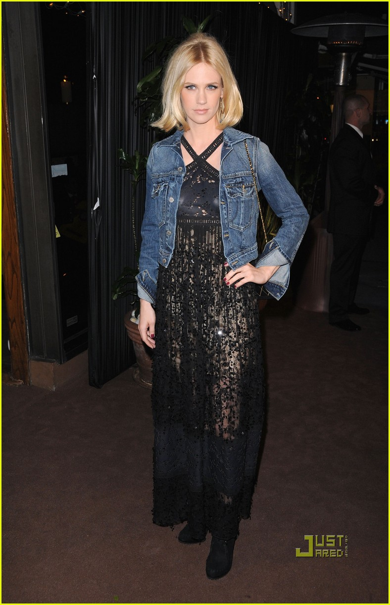 january jones chanel charles finch dinner 01