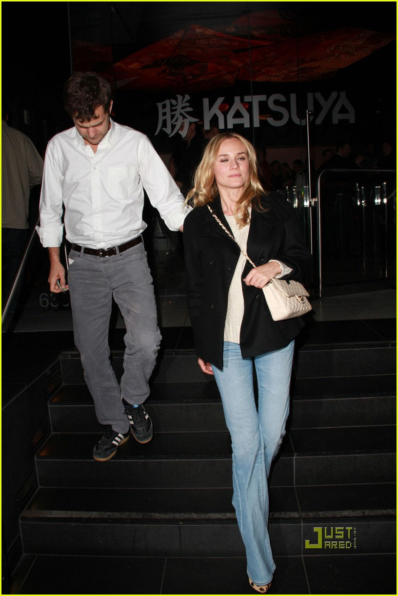 diane kruger joshua jackson out to dinner 03