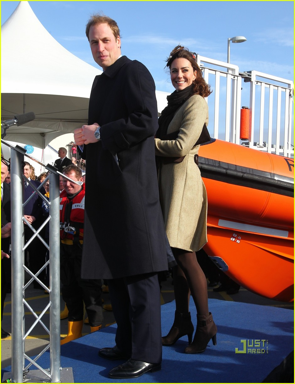 prince william kate middleton lifeboat 10