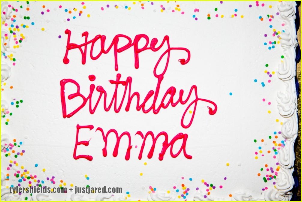 Поздравление с днём рождения эмме