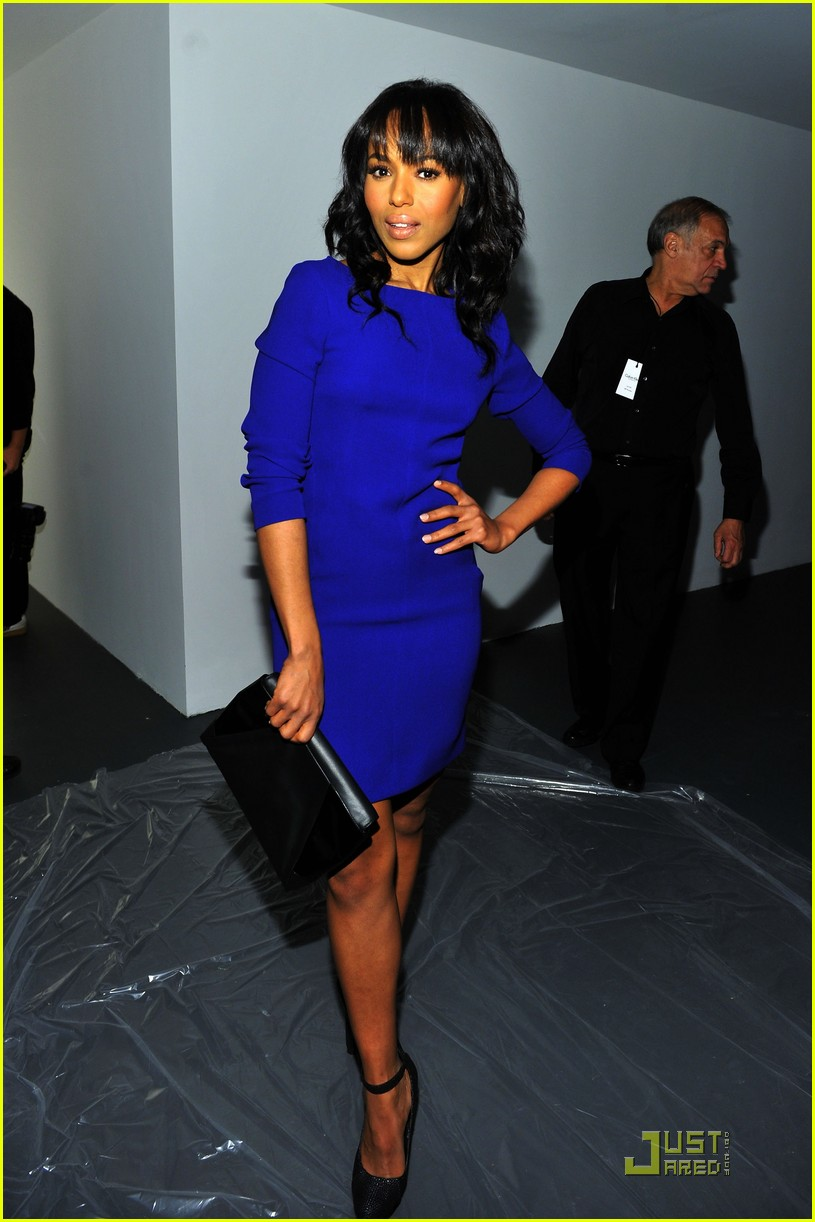 kerry washington zoe saldana calvin klein show 08