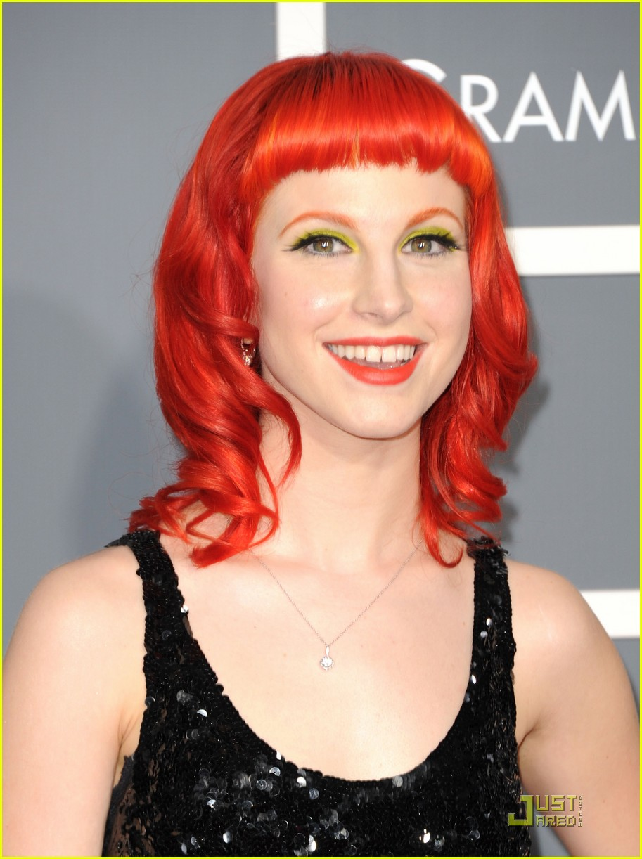 hayley willaims grammys 2011 03