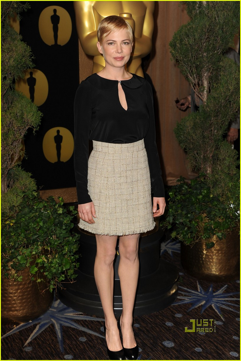 michelle williams oscar nomination luncheon 01