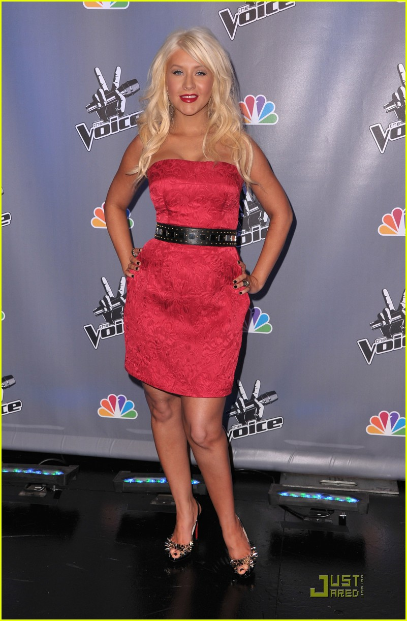 christina aguilera voice press conference 02