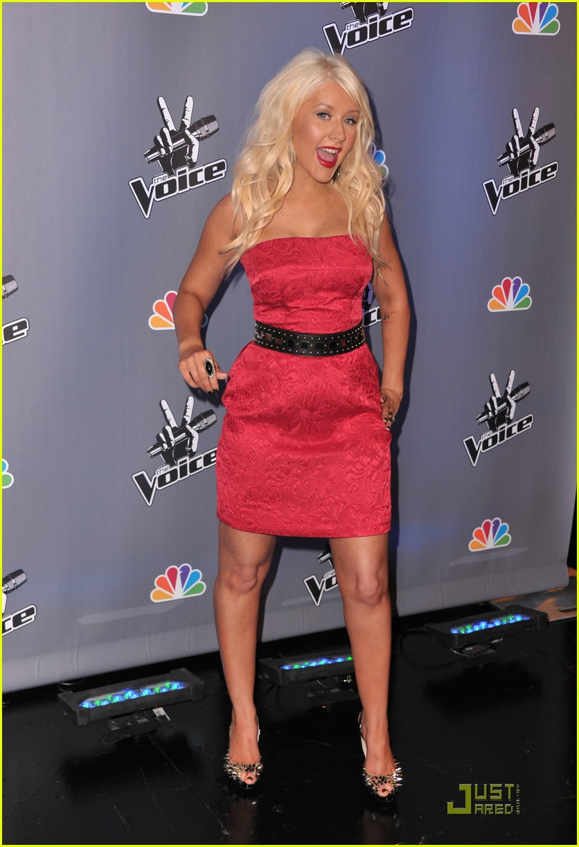 christina aguilera voice press conference 06