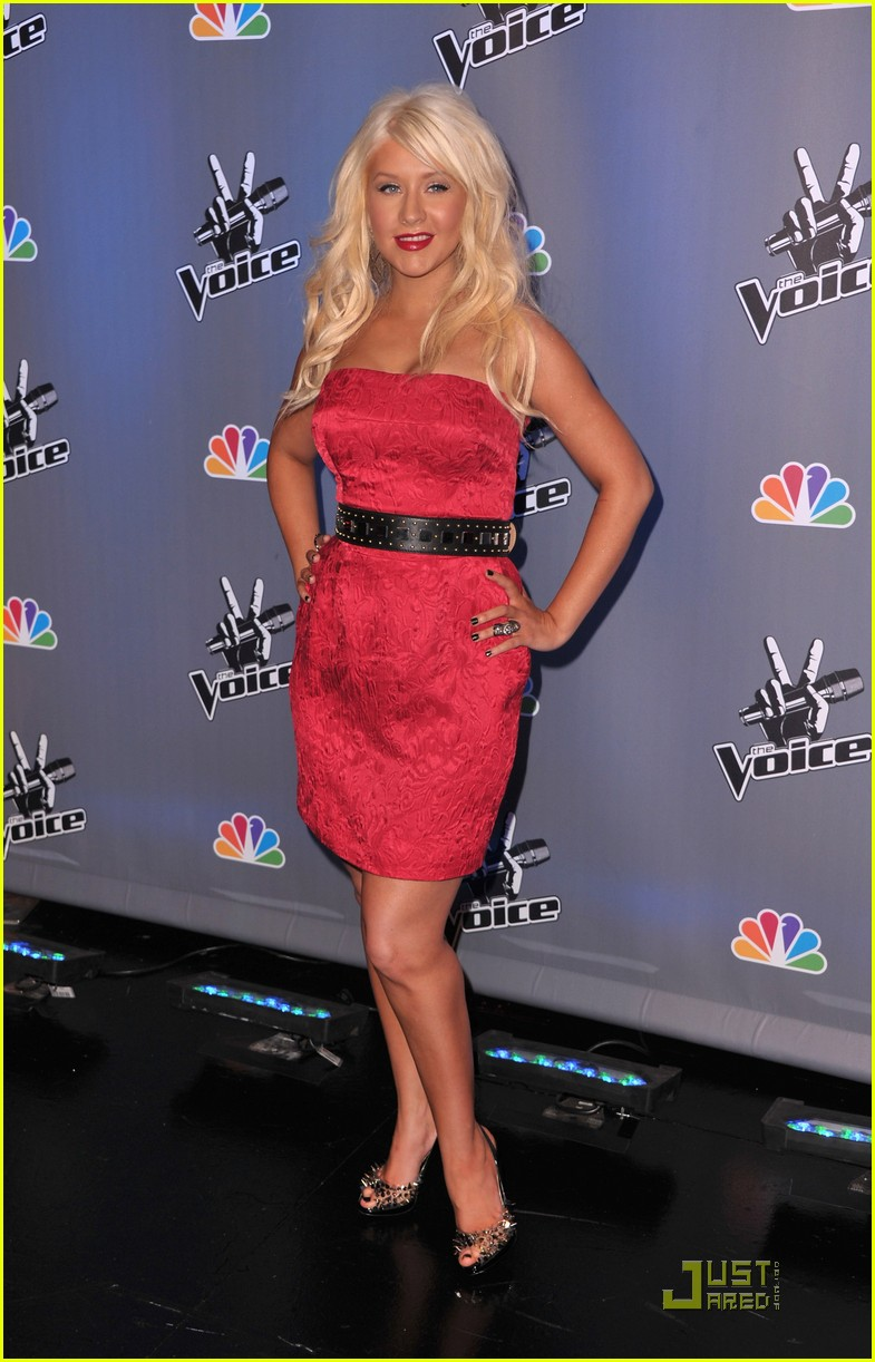 christina aguilera voice press conference 162527913