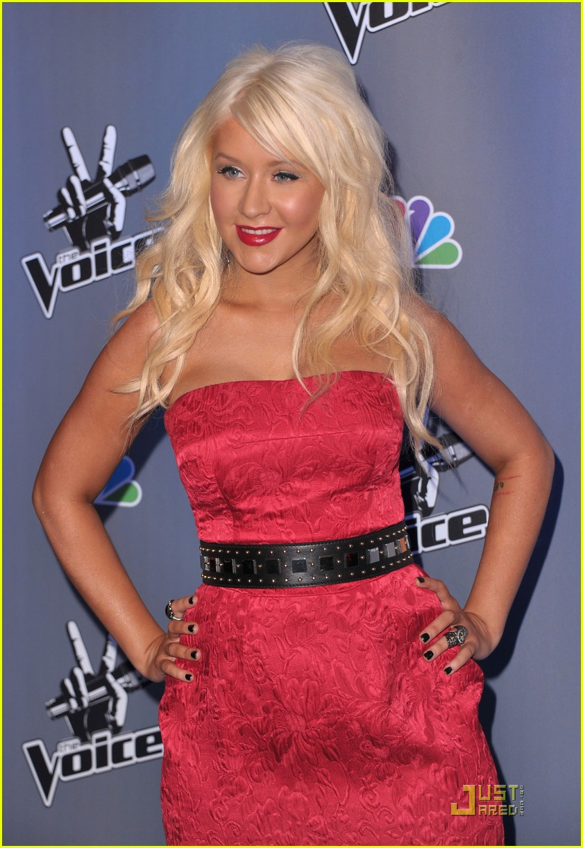 christina aguilera voice press conference 17