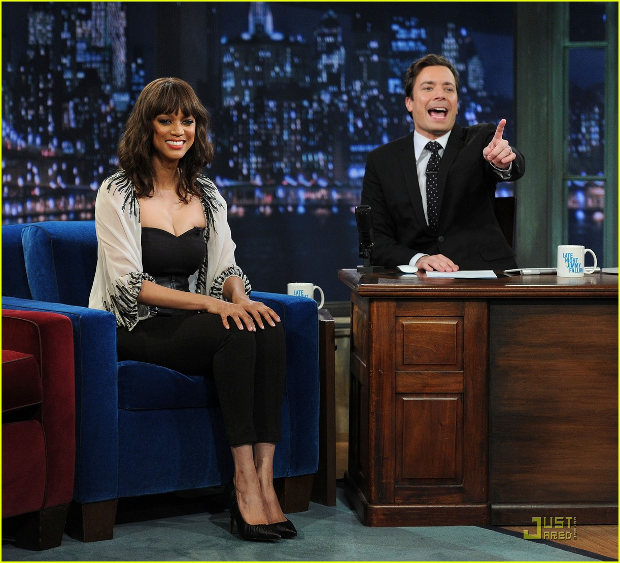tyra banks jimmy fallon 112527704