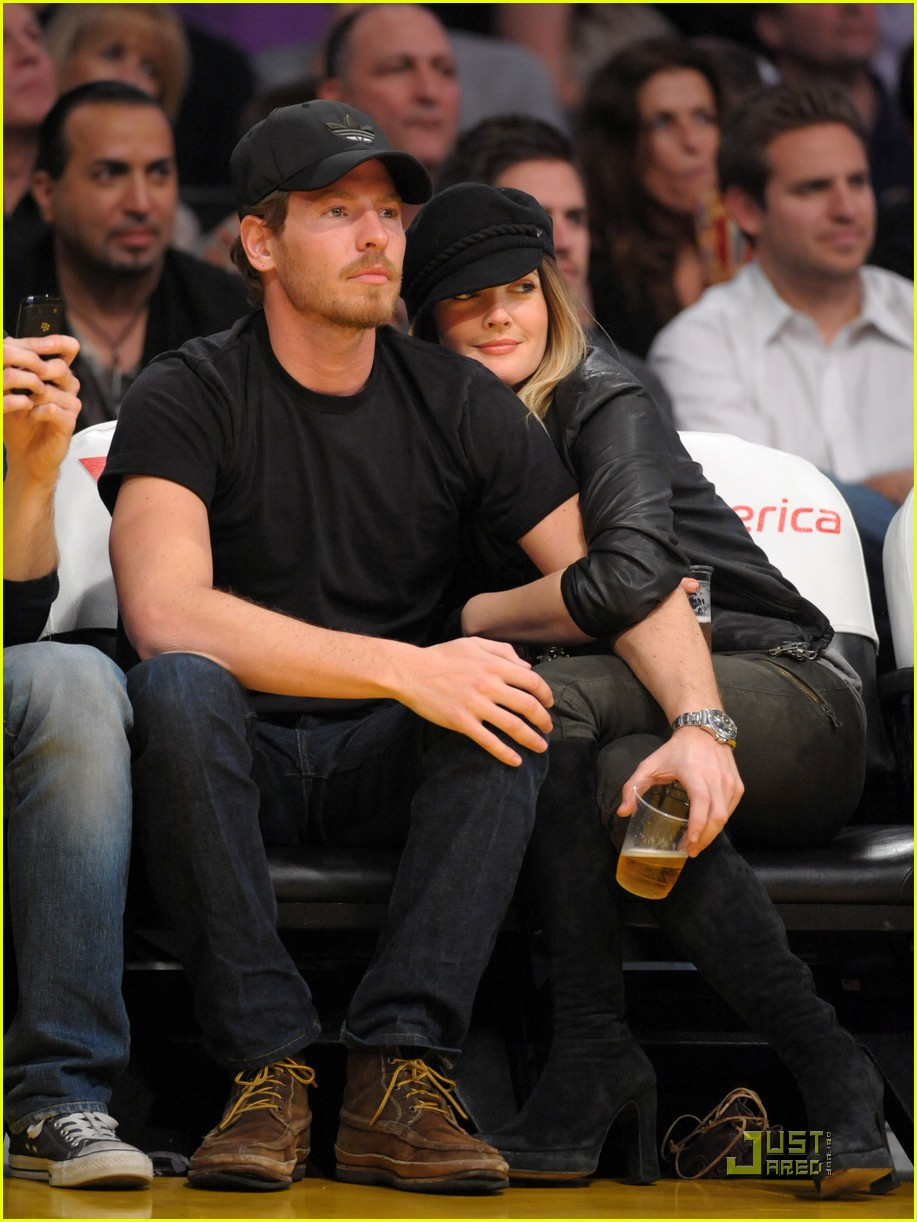 drew barrymore will kopelman lakers 09