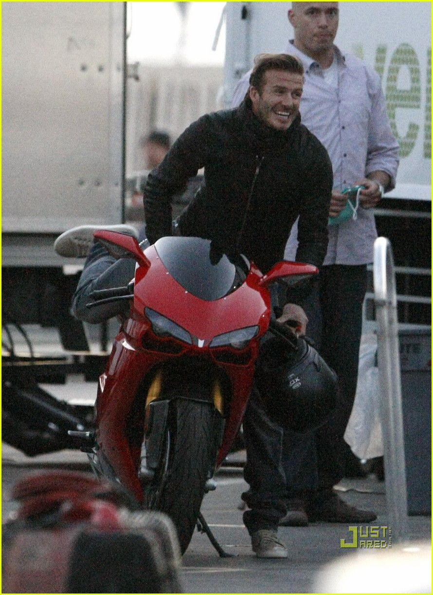 david beckham motorcycle 022531260