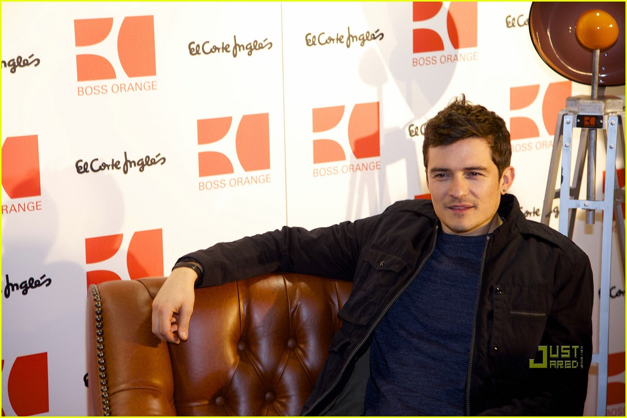 orlando bloom boss orange photo call 132528097