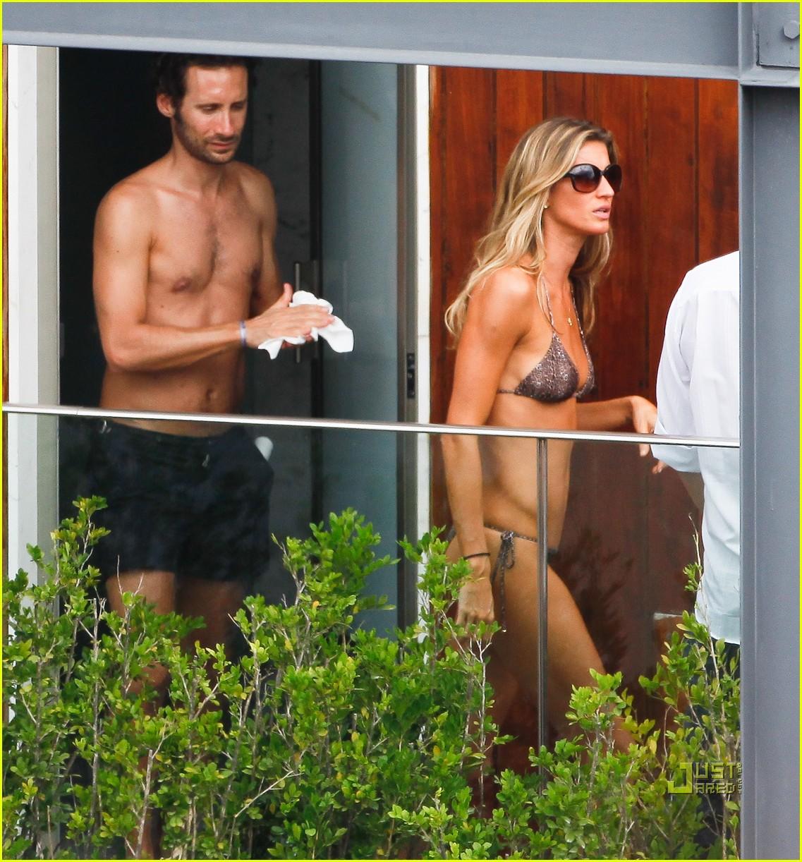 gisele bundchen bikini hotel pool brazil 10