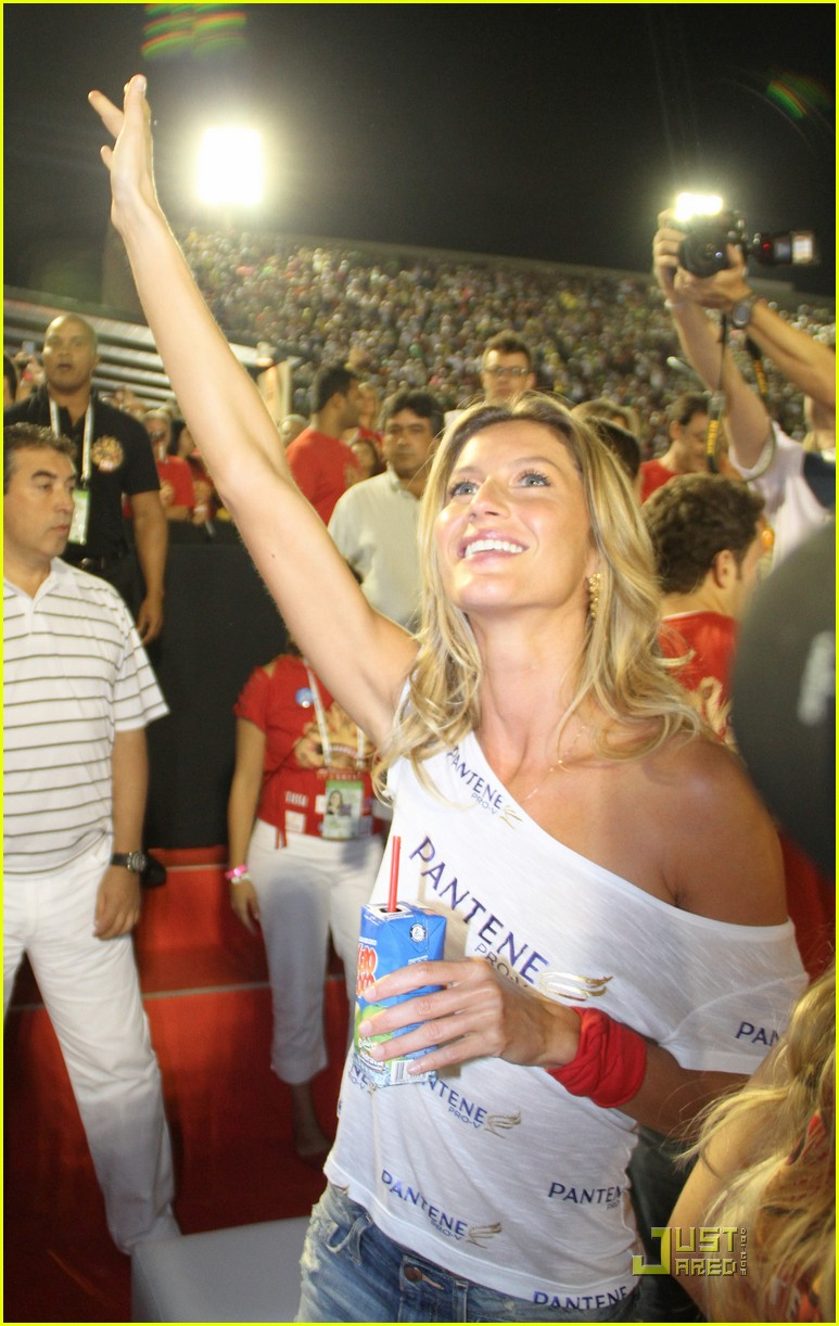 gisele bundchen tom brady carnival couple 07