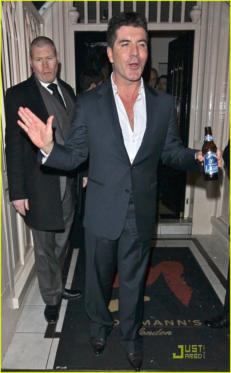 simon cowell london birthday bash 01