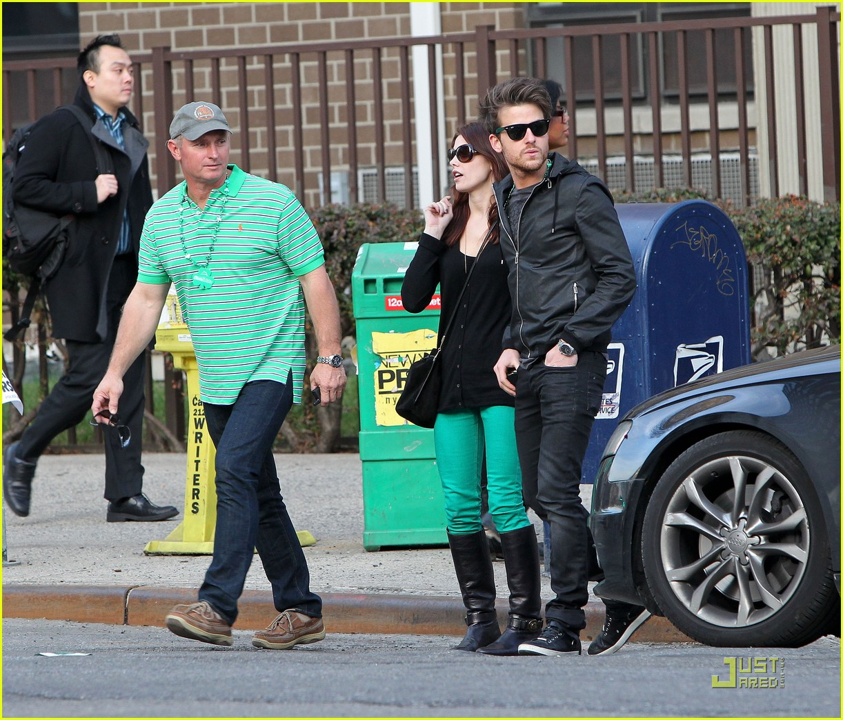 ashley greene st patricks day with jared followill 06