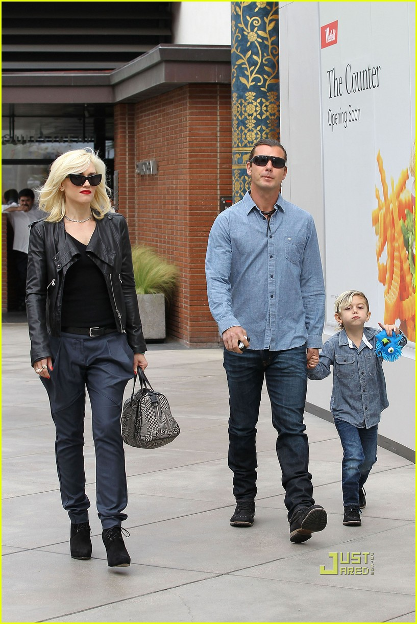 gwen stefani gavin rossdale kingston zuma birthday party 16