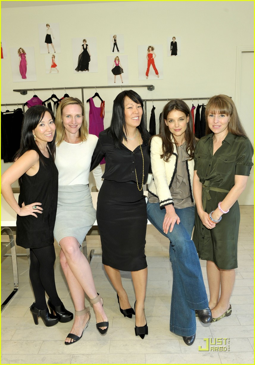 katie holmes holmes yang fall 2011 california preview event 01