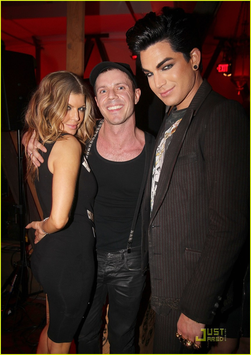 adam lambert jake shears dinner 02