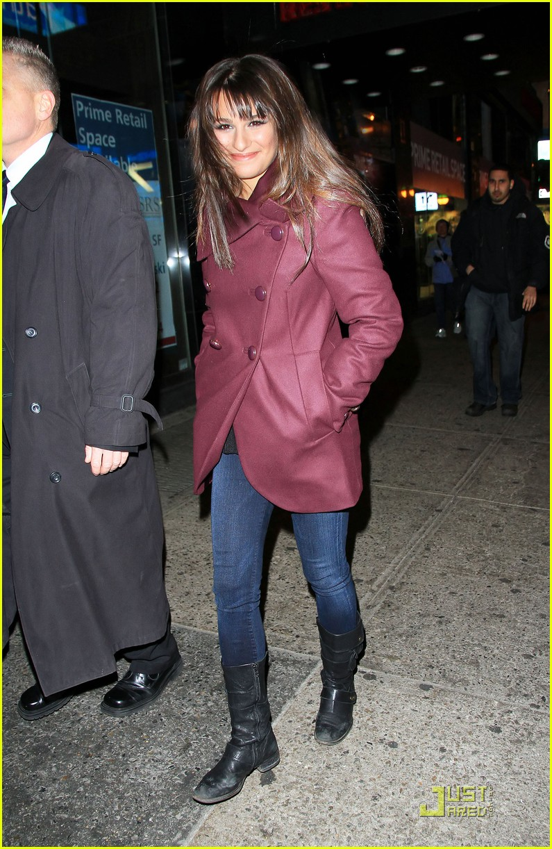 lea michele new years eve 07