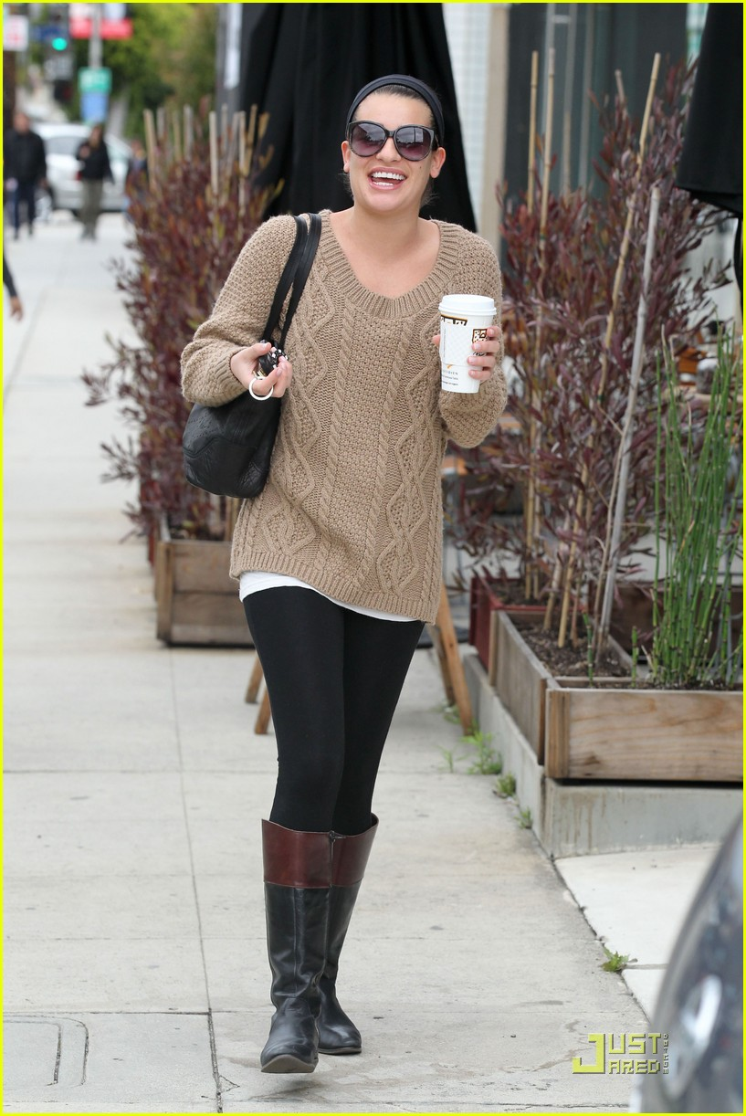 lea michele joyful java run 06