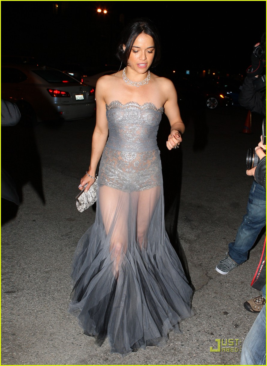 michelle rodriguez sheer dress 06